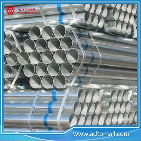 "Picture of BS1387 Gr.B 4""x4.5mmx6m Hot Dipped Galvanized Pipe"