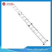 Picture of Industrial Extended Aluminum Ladder