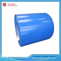 Picture of PPGI/HDG/GI/SECC DX51 ZINC Cold Rolled/Hot Dipped Galvanized Steel Coil/Plate Price for sandwich Panel(Roof & Wall).