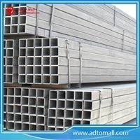 Picture of ASTM Standard Q235B Galvanized Steel Square Pipe