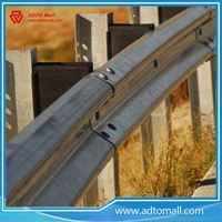 Picture of Steel Galvanized Highway Guardrail