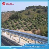 Picture of Metallic Highway Guardrail
