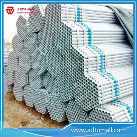 Picture of 33.4mmx3.38mmx6m Hot Export Dipped Galvanized Tube
