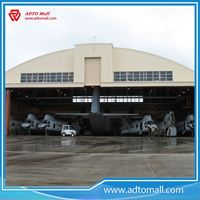 Picture of Large Span Steel Aircraft Shed