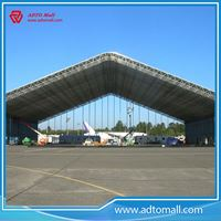 Picture of Steel Frame Modular Airplane Hangar