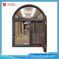 Picture of Heat Insulation Fixed Glass Aluminum Swing Windows