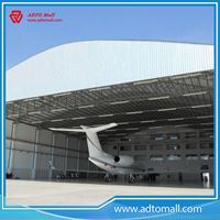 Picture of Prefabricated Structural Steel Airplane Shed Hangar