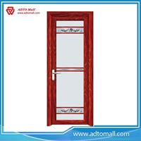 Picture of Aluminum Bathroom Doors with Toughened Glazing