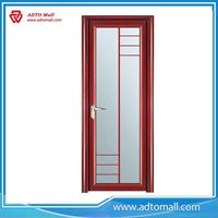 Picture of Aluminum Frame Frosted Glass Bathroom Door