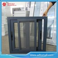 Picture of Aluminum Sliding Window with Mosquito Net