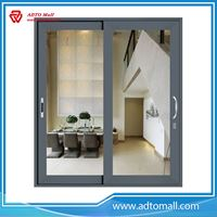 Picture of Aluminum Frame Wood Coating Door