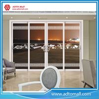 Picture of Sound Proof Tempered Glass Solid Wood Bi-folding Door