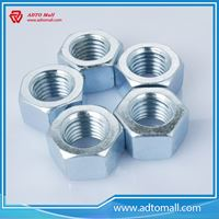 Picture of Zinc Plated Finish Metric Hexagon Nut