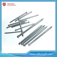 Picture of 3 Inch Bright Steel Bullet Head Nails