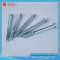 Picture of DIN933 Hex Bolt Polish Zinc Plated Surface Finish