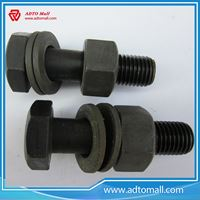 Picture of Black Steel Structural Bolts
