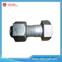 Picture of Grade 10.9 Galvanized High Tensile Bolts with Nut and Washers