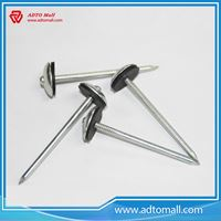 Picture of Umbrella Head Roofing Nails with Rubber Plate