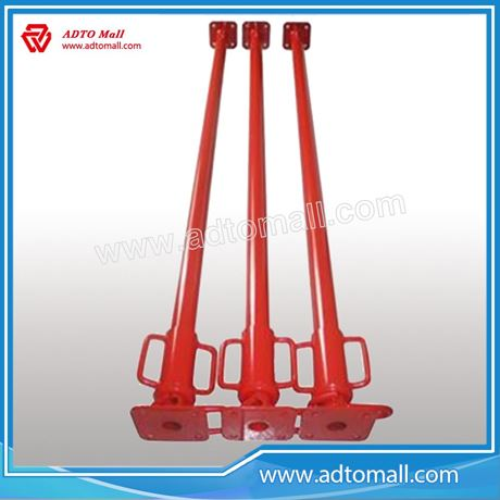 Picture of Red Painted Formwork & Falsework Light Duty Steel Adjustable Prop for Support