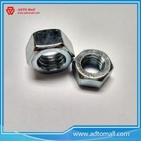 Picture of Grade 4.8 Galvanized Full Threaded Hex Nuts
