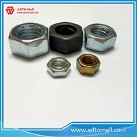 Picture of Grade 5 Grade 8 Color Zinc Plated Hex Nuts