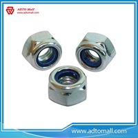 Picture of Zinc Plated Nylon Lock Nut