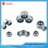 Picture of Zinc Plated Nylon Nut
