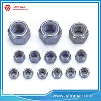 Picture of DIN985/DIN982 Nylon Hex Nut