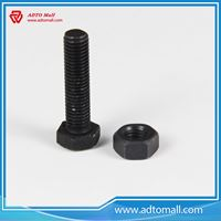 Picture of Black Hex Bolt and Nut