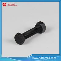 Picture of Grade 4.8 Black Hex Nuts