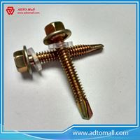Picture of Hex Head Self Drilling Screw with Rubber Washer