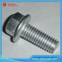 Picture of Grade 4.8 Galvanized Unserrated Flange Head Bolts