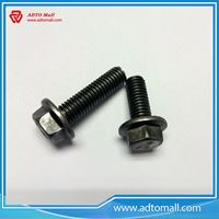 Picture of Grade 8.8 Plain Flange Head Screw