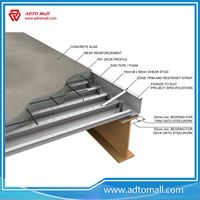 Picture of Cold Rolled Galvanized Steel Floor Decking Slab