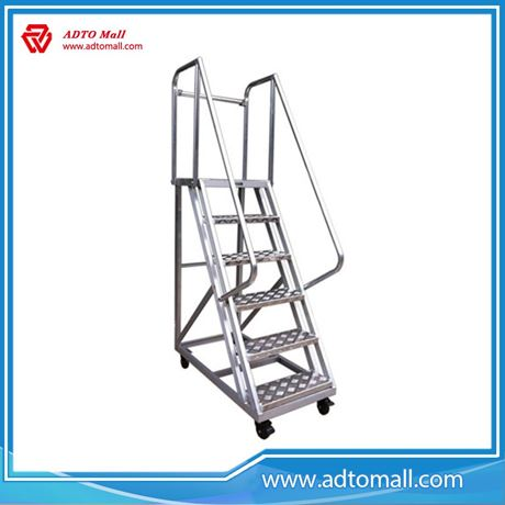 Picture of Aluminium Movable Stair for Supermarket