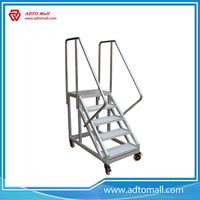 Picture of Movable Aluminium Platform Ladder