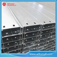 Picture of Hot Dip Galvanized C Purlin For Steel Structure Warehouse