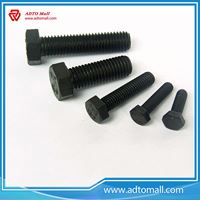 Picture of M16 to M48 Black Hexagon Bolts