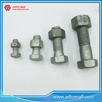 Picture of Grade 8.8 Hot Dipped Galvanized High Tensile Bolts