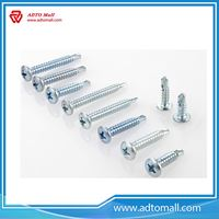 Picture of Zinc Coated Round Phillips Head Screws