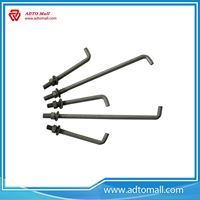 Picture of Grade 4.8 A36 Steel L Shape MS Anchor Bolts
