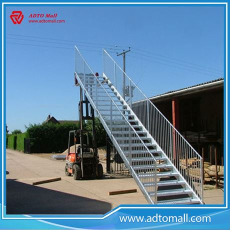 Picture of Outdoor Industrial Buidling Steel Structure Stairs Tread