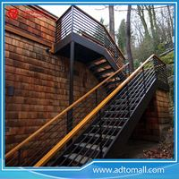 Picture of Outdoor Straight Iron Stairs