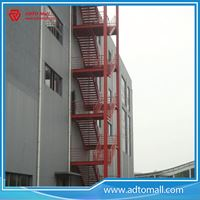 Superieur Picture Of Outdoor Exterior Structural Steel Stairs