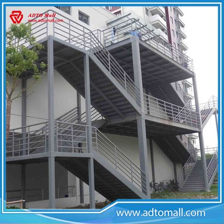 Picture Of Outdoor Welding Steel Stairs
