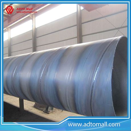 Picture of 720mmx10mmx6m Sprial Welded Steel Pipe