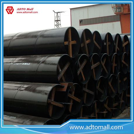 Picture of 530mmx9mmx6m SSAW Steel Pipe