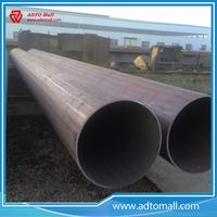 "Picture of BS1387 Gr.A 4""x3.6mmx6m Mild Steel ERW Pipes"