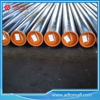 "Picture of BS 1387 Gr.A 1/2""x2mmx6m Big OD ERW Steel Pipe Tube"