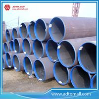 Picture of 114.3mmx3mmx6m ERW Steel Pipe